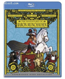 Adventures of Baron Munchausen, The [Blu-ray] Cover