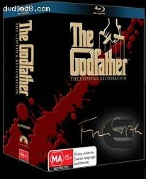 Godfather Collection, The - Four-Disc Coppola Restoration [Blu-ray] (Australia) Cover