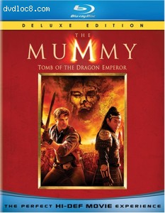Mummy, The: Tomb of the Dragon Emperor (Deluxe Edition) Cover