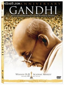 Gandhi (25th Anniversary) (2-Disc Collector's Edition) Cover