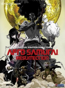 Afro Samurai: Resurrection - 2 Disc Special Edition Director's Cut Cover