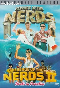Revenge Of The Nerds & Revenge Of The Nerds II (Double Feature) Cover