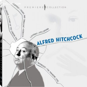 Alfred Hitchcock Premiere Collection (Lifeboat / Spellbound / Notorious / The Paradine Case / Sabotage / Young and Innocent / Rebecca / The Lodger) Cover