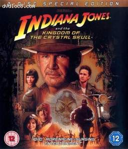 Indiana Jones and the Kingdom of the Crystal Skull Cover