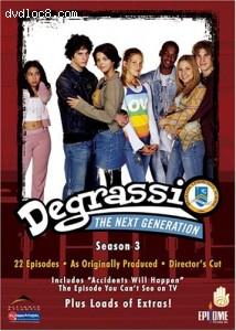 Degrassi The Next Generation - Season 3 Cover