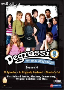 Degrassi The Next Generation - Season 4 Cover