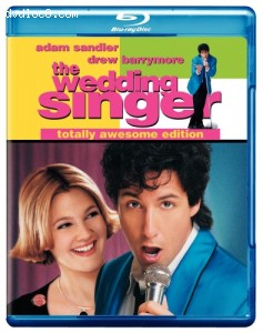 Wedding Singer, The (blu-ray) Cover