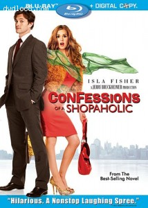 Confessions of a Shopaholic [Blu-ray] Cover