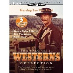 Spaghetti Westerns Collection, The Cover