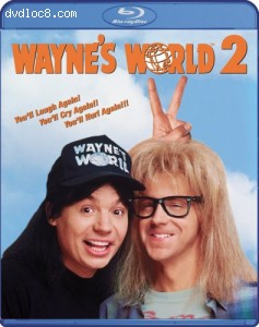 Wayne's World 2 [Blu-ray] Cover