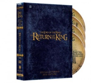 Lord of the Rings, The - The Return of the King (Platinum Series Special Extended Edition) Cover