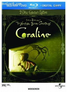 Coraline (2 Disc Collector's Edition) [Blu-ray] Cover