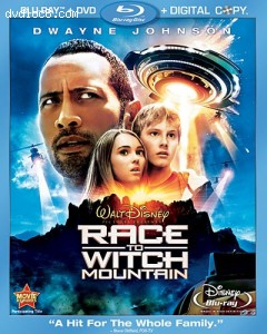 Race to Witch Mountain (Blu-ray/DVD Combo + Digital Copy) [Blu-ray] Cover