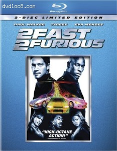 2 Fast 2 Furious [Blu-ray] Cover