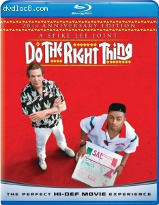 Do the Right Thing [Blu-ray] Cover