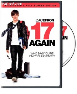 17 Again (Widescreen & Full-Screen Edition) Cover