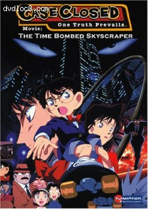 Case Closed: The Time Bombed Skyscraper Cover