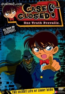 Case Closed: The Secret Life of Jimmy Kudo Cover