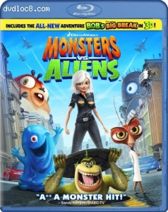 Monsters vs. Aliens [Blu-ray] Cover