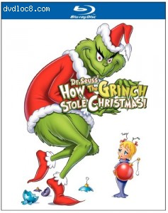 How the Grinch Stole Christmas [Blu-ray] Cover