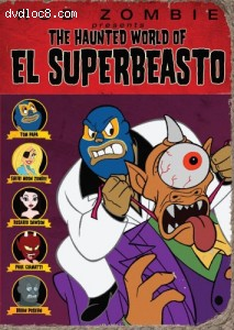 Haunted World of El Superbeasto, The Cover