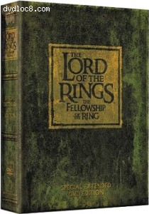 Lord of The Rings, The: The Fellowship of The Ring (Extended Version) Cover