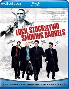 Lock, Stock And Two Smoking Barrels [Blu-ray] Cover
