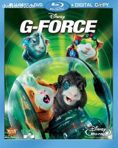 G-Force (3  Disc Combo Pack with Digital Copy and DVD) [Blu-ray] Cover