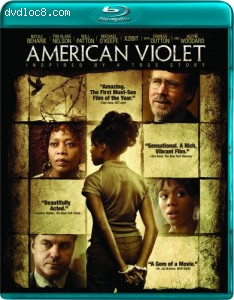 Cover Image for 'American Violet'
