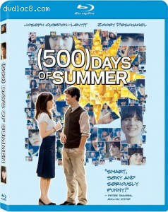 (500) Days of Summer [Blu-ray] with Digital Copy Cover