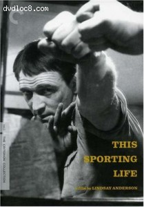 This Sporting Life - Criterion Collection Cover