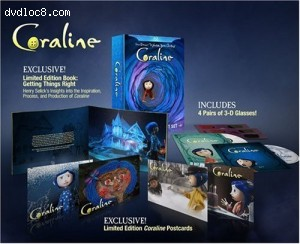 Coraline Gift Set (Collector's Edition) [Blu-ray] Cover