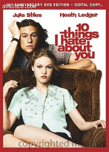 10 Things I Hate About You (10th Anniversary DVD Edition - Digital Copy) Cover