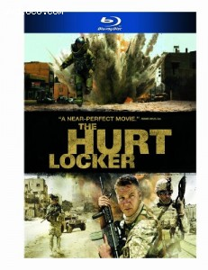 Cover Image for 'Hurt Locker, The [blu-ray]'
