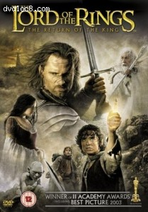 Lord of the Rings, The: The Return of the King - (Theatrical Version) - Two Disc Set Cover