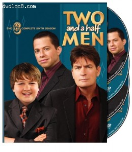 Two and a Half Men: The Complete Sixth Season Cover
