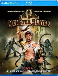 Jack Brooks: Monster Slayer [Blu-ray] Cover