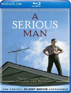 Serious Man [Blu-ray], A