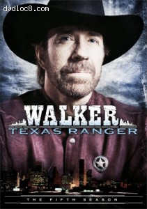 Walker, Texas Ranger: The Complete Fifth Season Cover