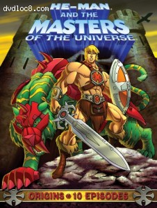 He-Man and the Masters of the Universe: Origins Cover
