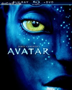 Avatar (Two-Disc Blu-ray/DVD Combo) [Blu-ray] Cover