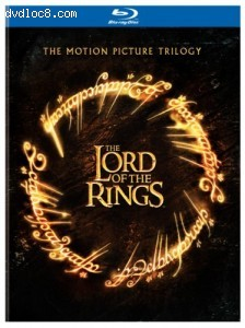 Lord of the Rings, The: The Motion Picture Trilogy (Theatrical Editions) [Blu-ray] Cover