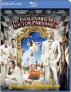 Imaginarium of Doctor Parnassus [Blu-ray], The Cover