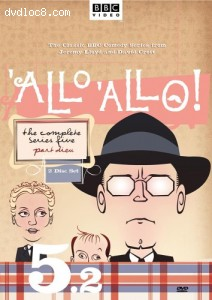'Allo 'Allo! - The Complete Series Five, Part 2 Cover