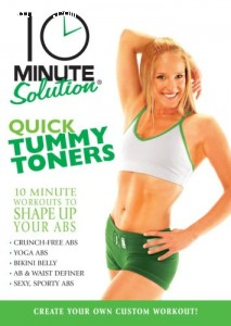 10 Minute Solution: Quick Tummy Toners Cover