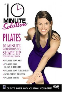 10 Minute Solution: Pilates Cover