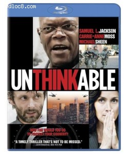 Unthinkable [Blu-ray] Cover