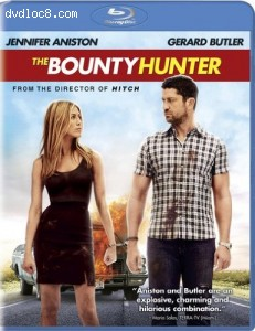 Bounty Hunter [Blu-ray], The Cover
