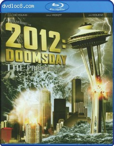 2012: Doomsday [Blu-ray] Cover