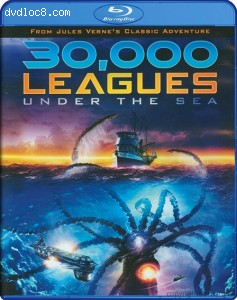 30,000 Leagues Under the Sea [Blu-ray] Cover